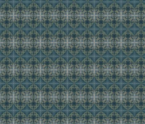 Dark denim shibori 2 fabric by northbloom on Spoonflower - custom fabric