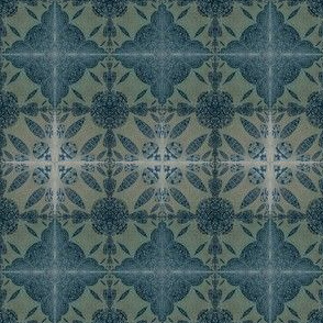 Dark denim shibori 2