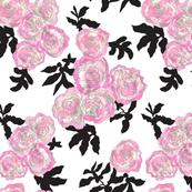 pink_roses_and_blac_leaves