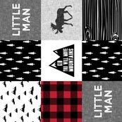 Rlittle_man_quilt_top_with_kid_you_will_move_mountains_monochrome_with_red-02_shop_thumb