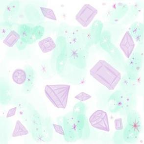 Pastel gems