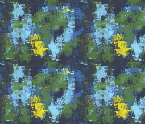 dino-rawer sponge fabric by ilikelace on Spoonflower - custom fabric