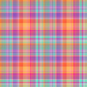 Beyond the Rainbow Plaid 1