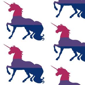 Pink, Purple and Blue Unicorn - Unicorn Pride - Large