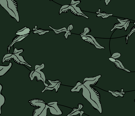 dark-ivy fabric by breadcrumbs on Spoonflower - custom fabric