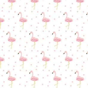 flamingo Key West Polka - 467 Large