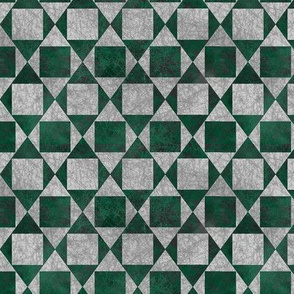 A Square is a Rhombus - Texture Grey / Green