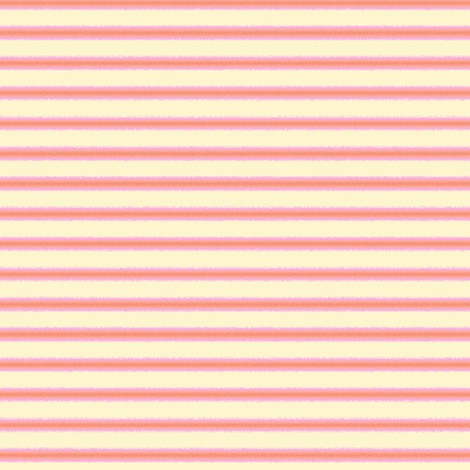 soft stripes - pink and yellow fabric by designed_by_debby on Spoonflower - custom fabric