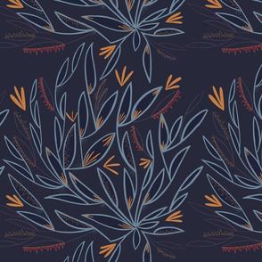 Little Blue Leaves