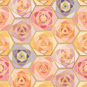 Honeycomb roses