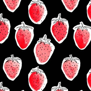 Strawberry (Black)