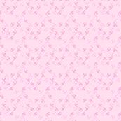 Pink Tossed Mini Flowers