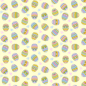 Easter Eggs Small with Mini Flowers