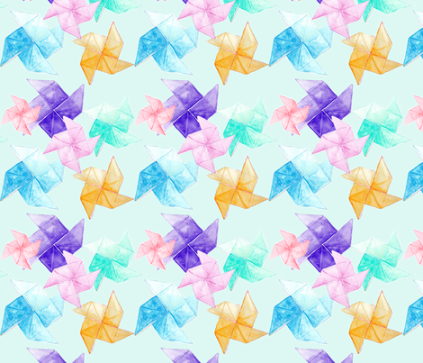 origami fabric by kana_hata on Spoonflower - custom fabric