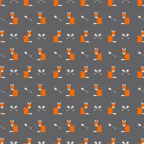 Boho Fox Tangrams