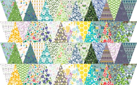fabric bunting fabric by karinka on Spoonflower - custom fabric