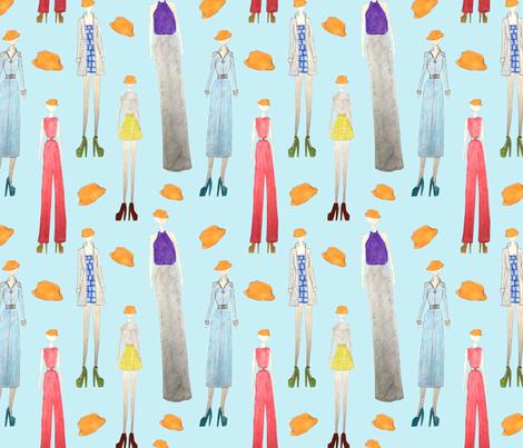 Hats par Sawyer fabric by par_sawyer on Spoonflower - custom fabric