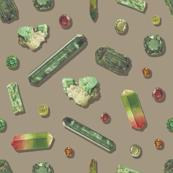 Emerald Precious Stones - Clay