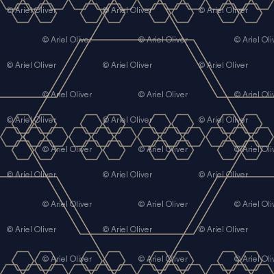 blue mountain hexagons