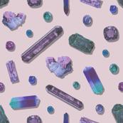 Amethyst Precious Stones - Blush
