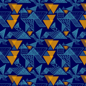 Blue Birds Tangram