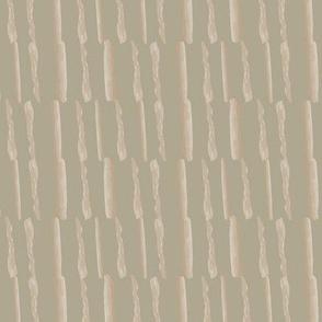 Watercolor stripe Vertical Taupe