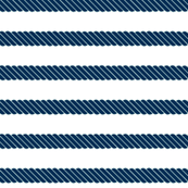 Nautical Navy Blue Mint Stripe Beach Rope Sail Boat_Miss Chiff Designs