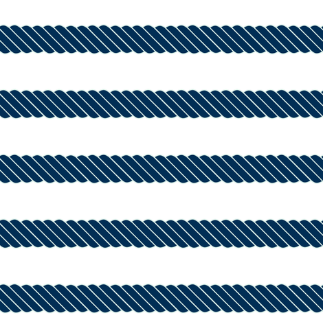 16-02a Nautical Navy Blue Mint Stripe Beach Rope Sail Boat_Miss Chiff Designs fabric by misschiffdesigns on Spoonflower - custom fabric