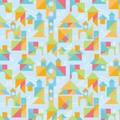 tangram city