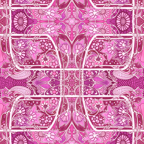 Some Paisley Valentine Garden fabric by edsel2084 on Spoonflower - custom fabric