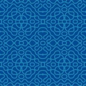 Tesla lace_lapis blue