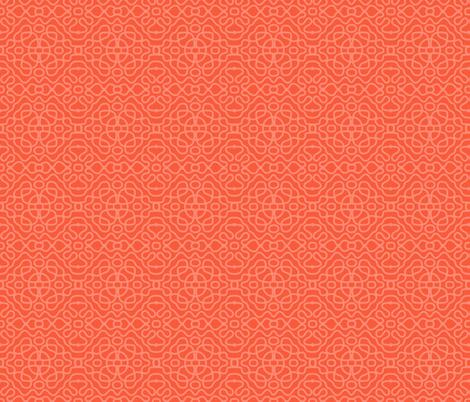 Tesla lace_flame fabric by beverlyjane on Spoonflower - custom fabric