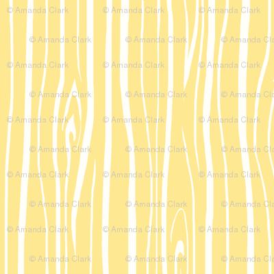 Woodgrain - baby yellow