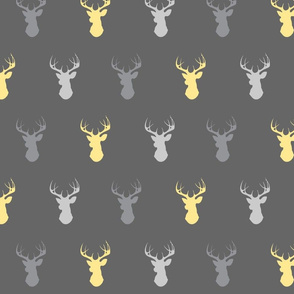 Deer- Baby yellow and grey
