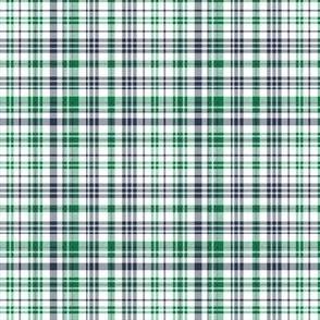 tartan mini print