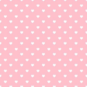 valentines hearts coordinate - pink