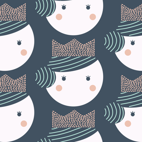 Queen fabric by lemonni on Spoonflower - custom fabric