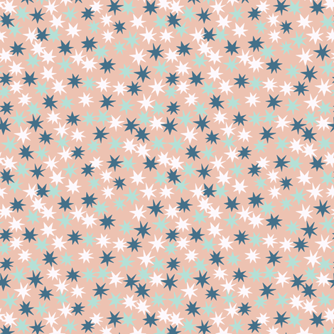 Starry  fabric by lemonni on Spoonflower - custom fabric