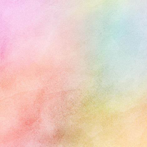 Pastel Rainbow Watercolor Pattern fabric by raccoongirl on Spoonflower - custom fabric
