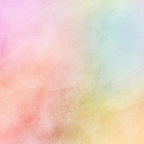 Pastel Rainbow Watercolor Pattern