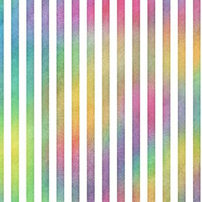 Bright Rainbow Vertical Stripes Pattern 1