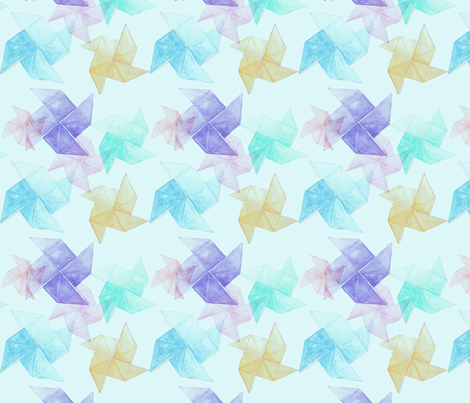 origami2 fabric by kana_hata on Spoonflower - custom fabric