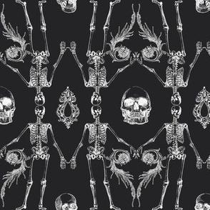Bone Damask Dark