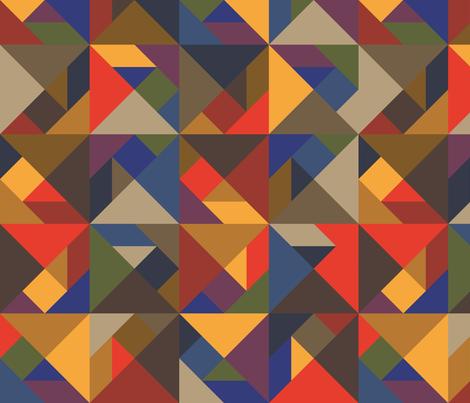 Tangram Shapes fabric by mariafaithgarcia on Spoonflower - custom fabric