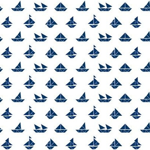 Sail Away in Navy
