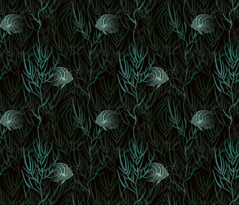 Into the Deep fabric by idoa on Spoonflower - custom fabric