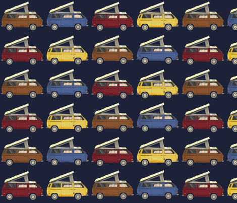 westy fabric by allisonyoung on Spoonflower - custom fabric