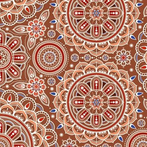 Brown_Mandalas
