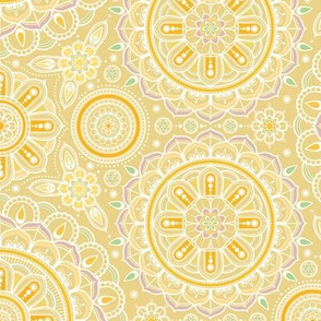 Yellow_Mandalas