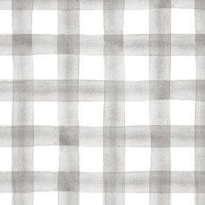 watercolor plaid grey - wholecloth coordinate